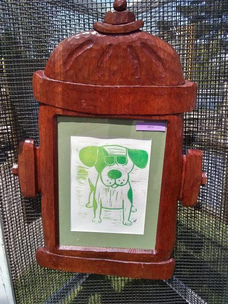 Binky and Bell Art Work - Homeless Pet Charity Art