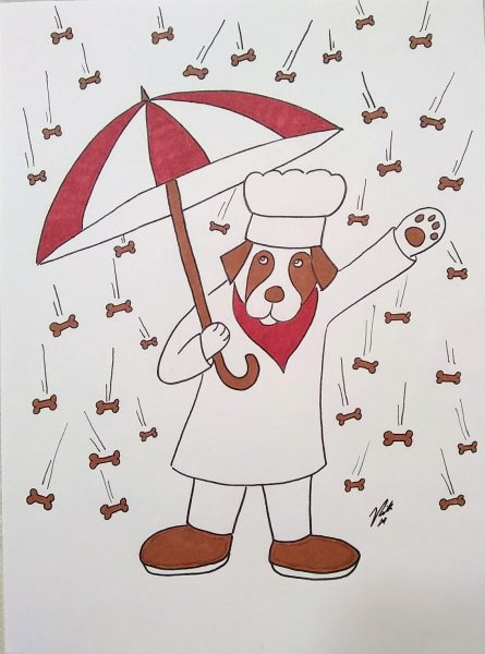 Raining Biscuits - by Binky and Bell