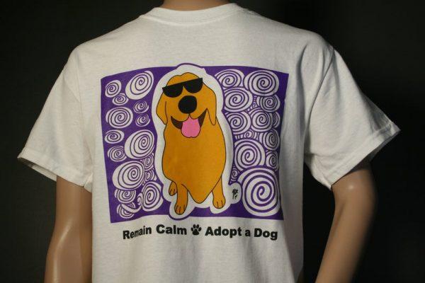 Golden Retriever Remain Calm Adopt A Dog by BinkyandBell.com