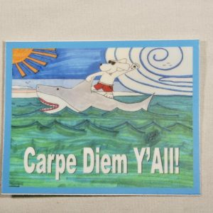 Carpe Diem Y'All Sticker