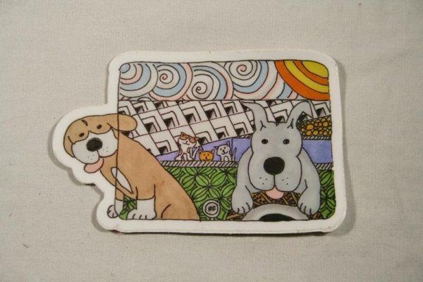 Horace and Jasper Sticker