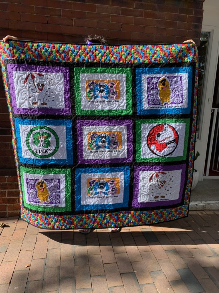 Binky and Bell Quilt