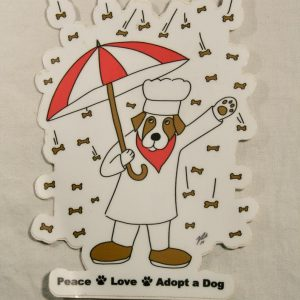 Raining Biscuits Sticker