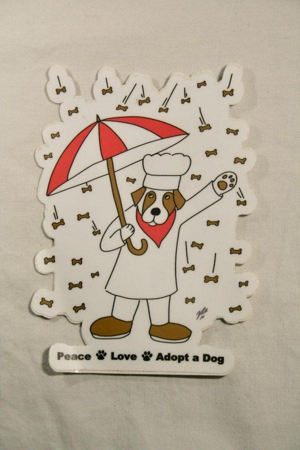 Raining Biscuits Sticker