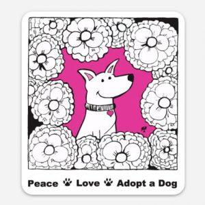 Cleo Sticker