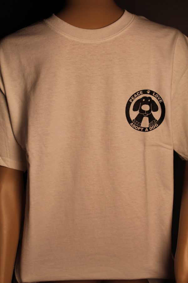 Naughty Dog Front of Shirt