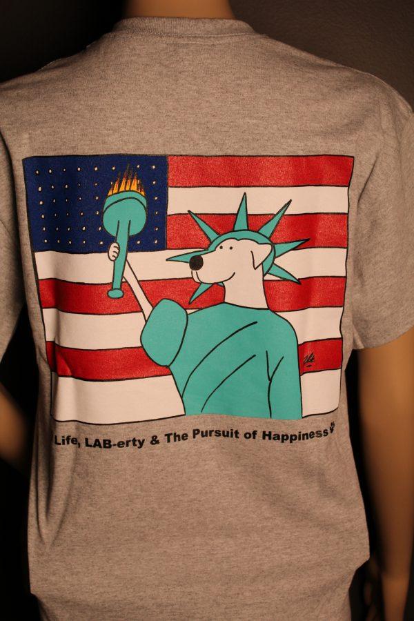 Lady LAB-erty T-shirt