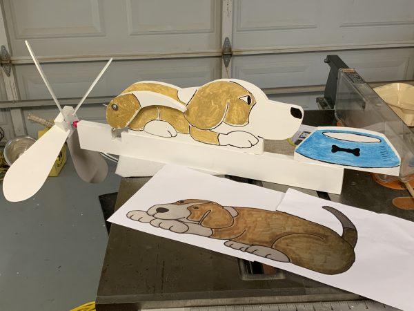 Beagle Whirlygig Experiment