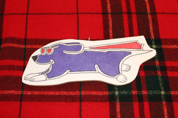 Super Dog Christmas Ornament
