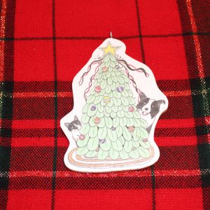 Cat Dog Christmas Tree Ornament