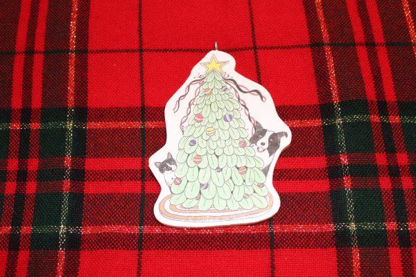 Cat Dog Christmas Tree Ornament