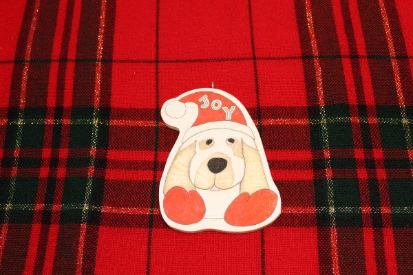 Joy the Spaniel Dog Ornament
