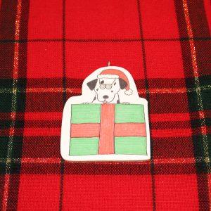 Truffles the Dalmatian Christmas Ornament