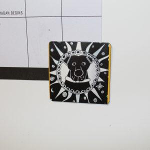 Celestial Dog Magnet