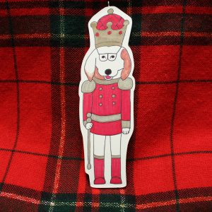 Nutcracker Dog Christmas Ornament