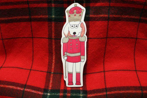 Nutcracker Dog Christmas Ornament