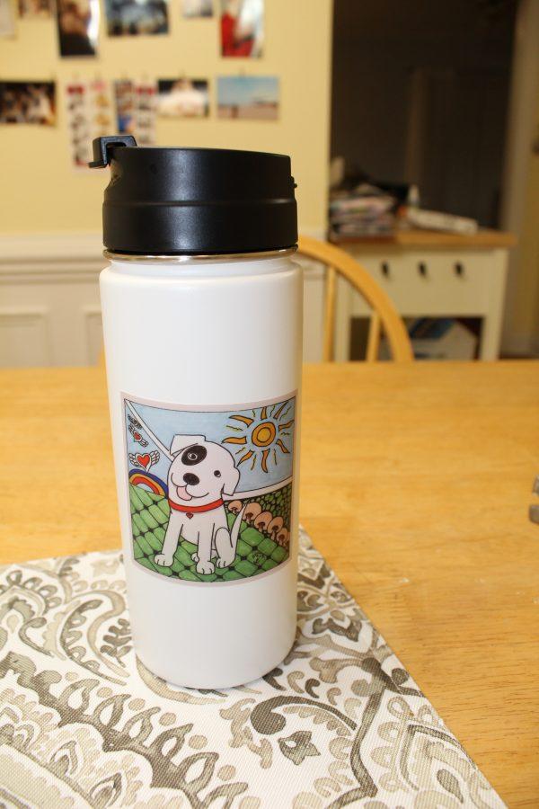 Adore-A-Bull Dog Sticker