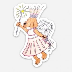 My Fairy Dog Mother Sticker