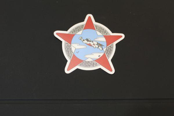 Rocket Dog Sticker