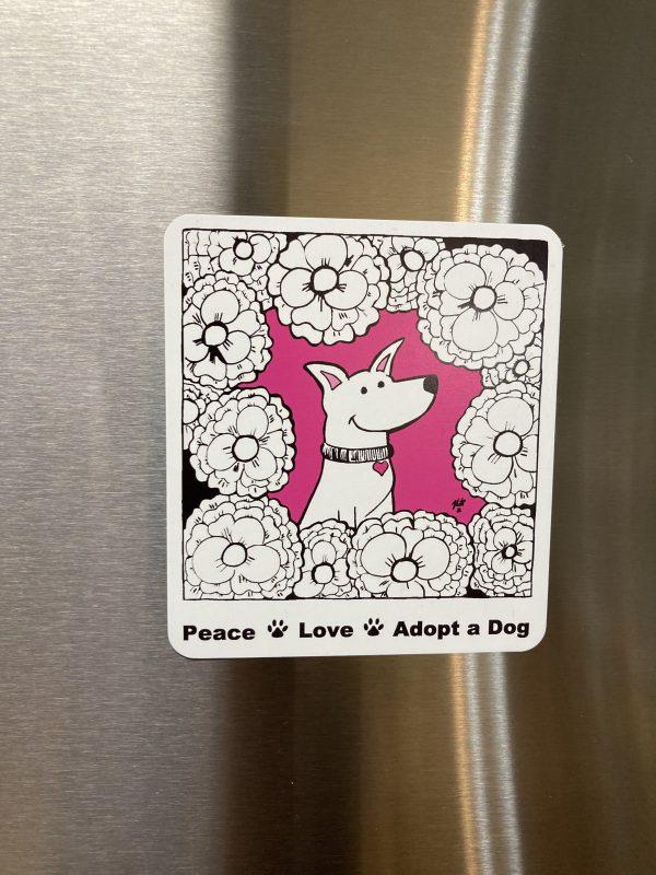 Cleo Dog Magnet