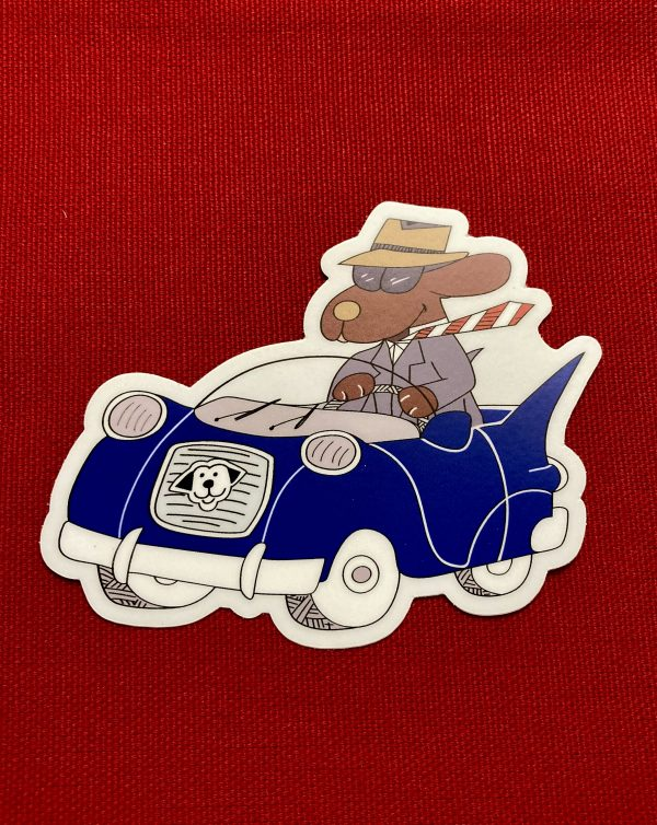 Dapper Dog Sticker