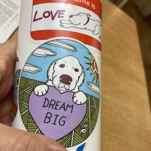 DREAM BIG Dog Art Sticker
